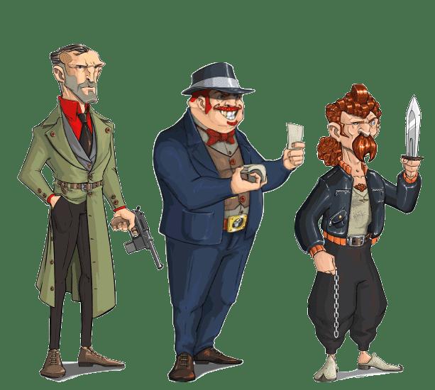 3 قهرمان: اسی، منوچ و کمیسر